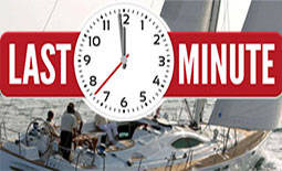 Last Minute charter offers
